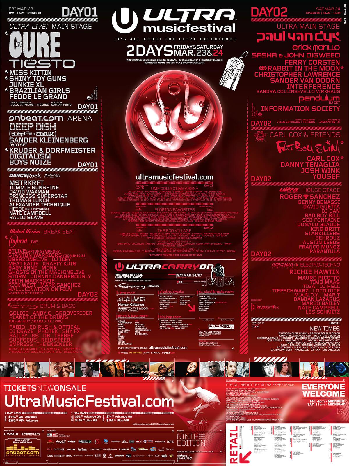 Ultra music 2014 lineup