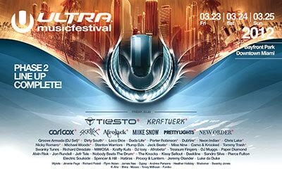 Ultra 2012 Flyer