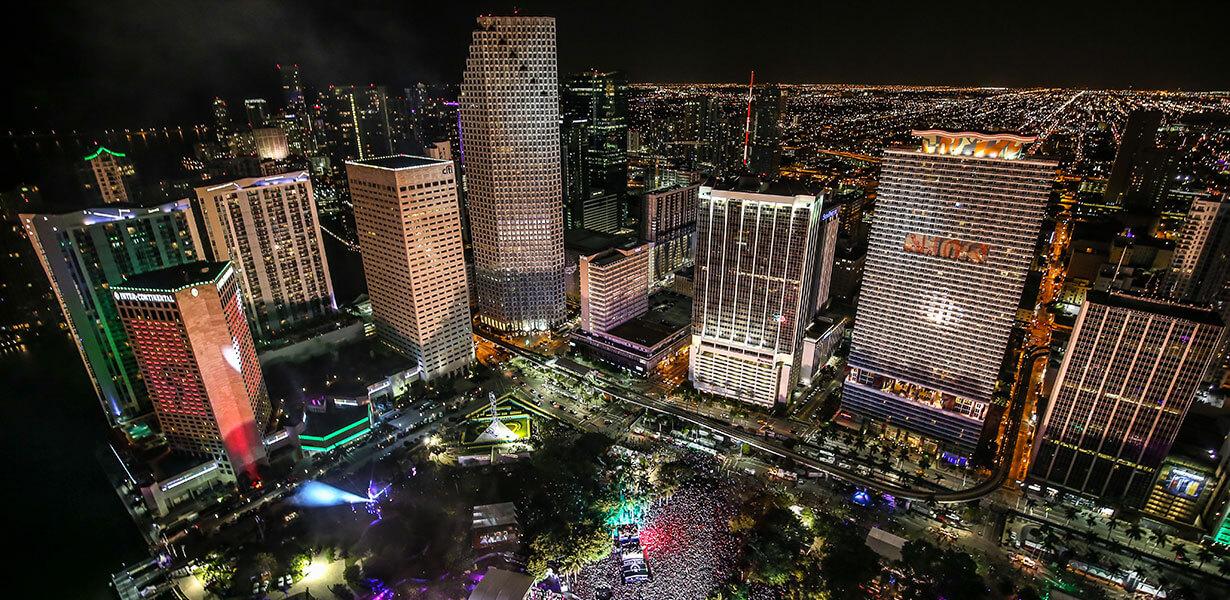 Miami Transporation Bayfront 3 Ultra Music Festival