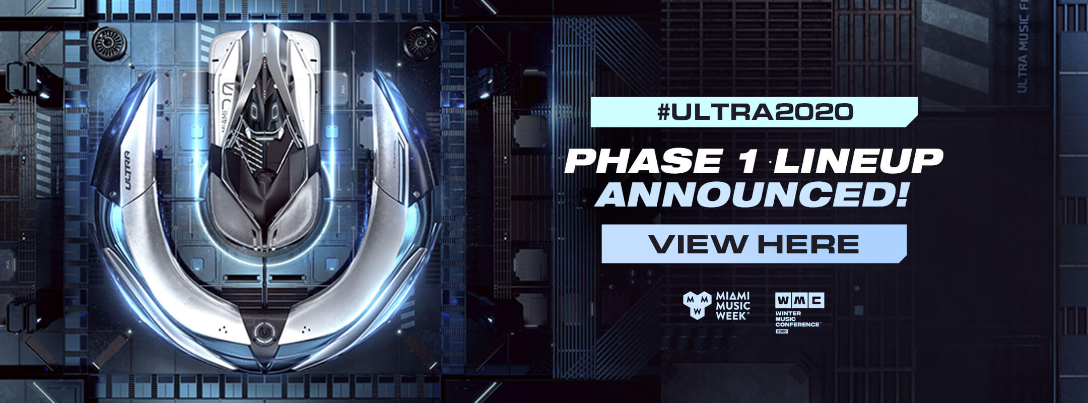 View the Ultra Music Festival 2020 Phase 1 Lineup